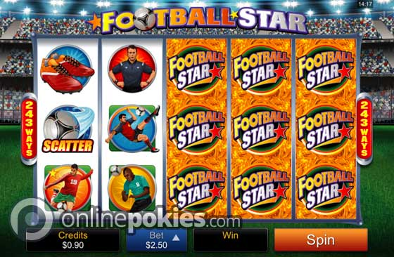 Football Star Pokie Preview