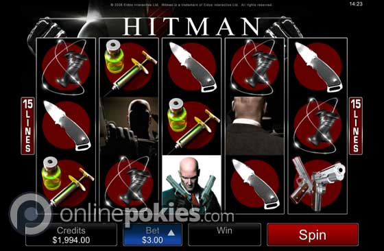 Hitman Pokie Preview
